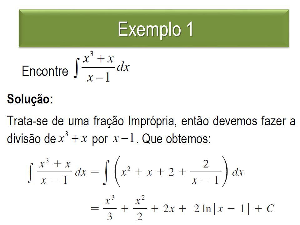 Exemplo 4 Exemplo 4