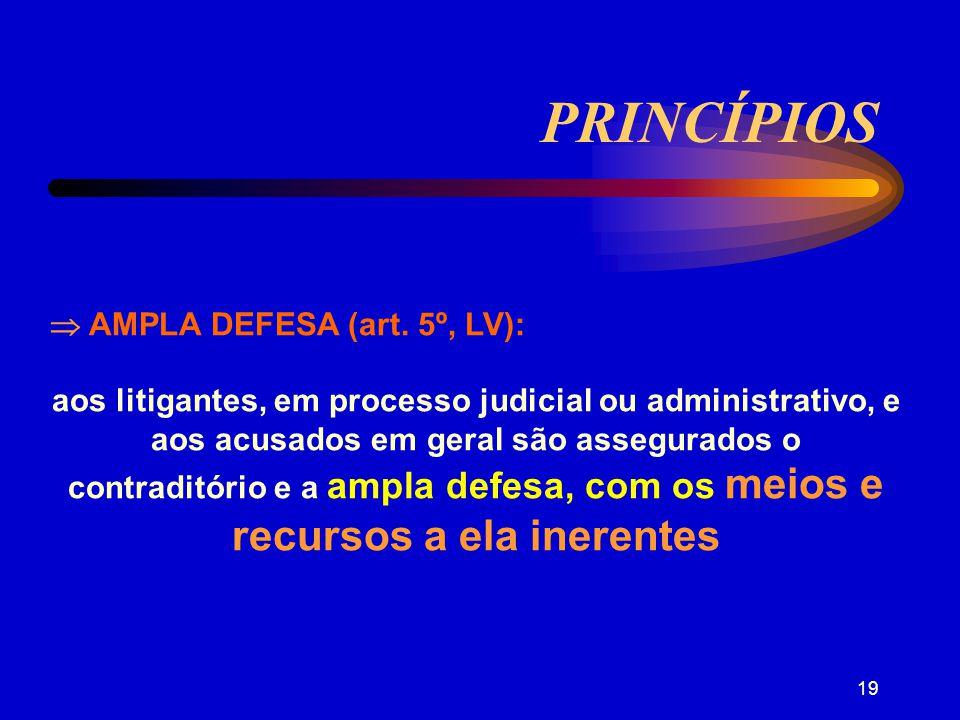18 PRINCÍPIOS ÔNUS DA PROVA - é para quem esta aproveita, é de quem alega.