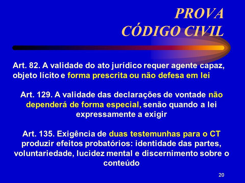 19 PRINCÍPIOS AMPLA DEFESA (art.