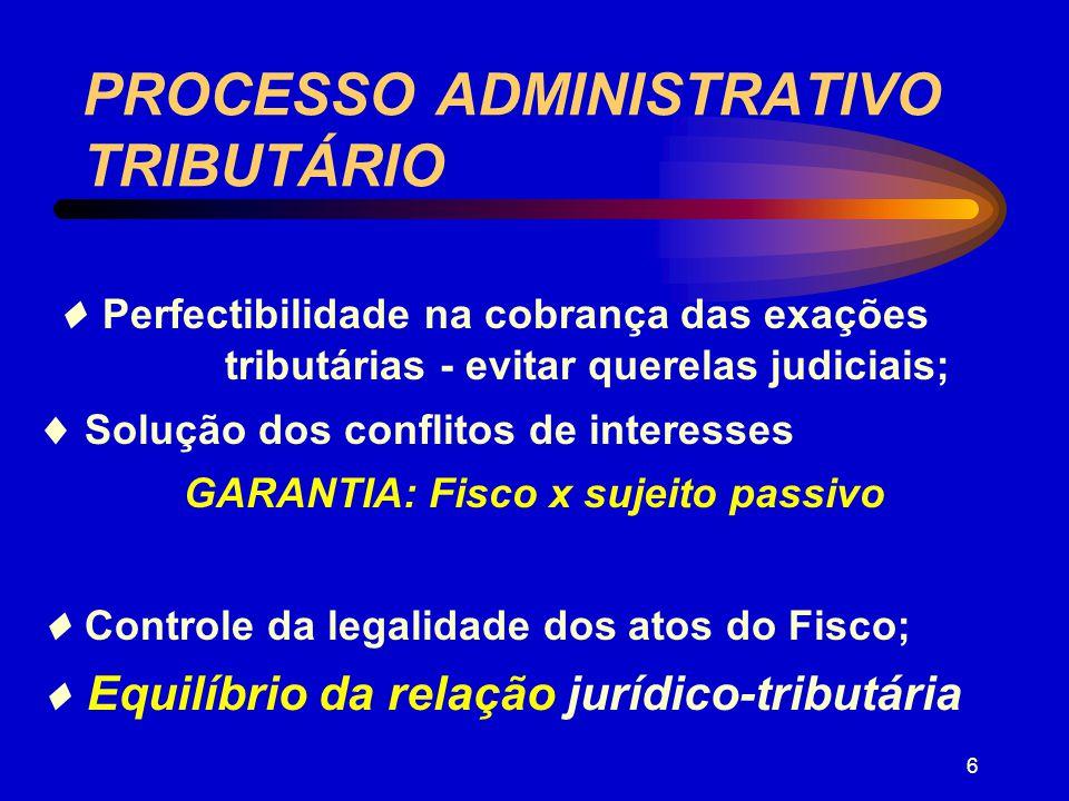 5 LANÇAMENTO CONSUMA-SE COM A CIÊNCIA REGULAR DO SUJEITO PASSIVO OU SEU REPRESENTANTE LEGAL IMPUGNADA A EXIGÊNCIA PROCESSO ADMINISTRATIVO TRIBUTÁRIO