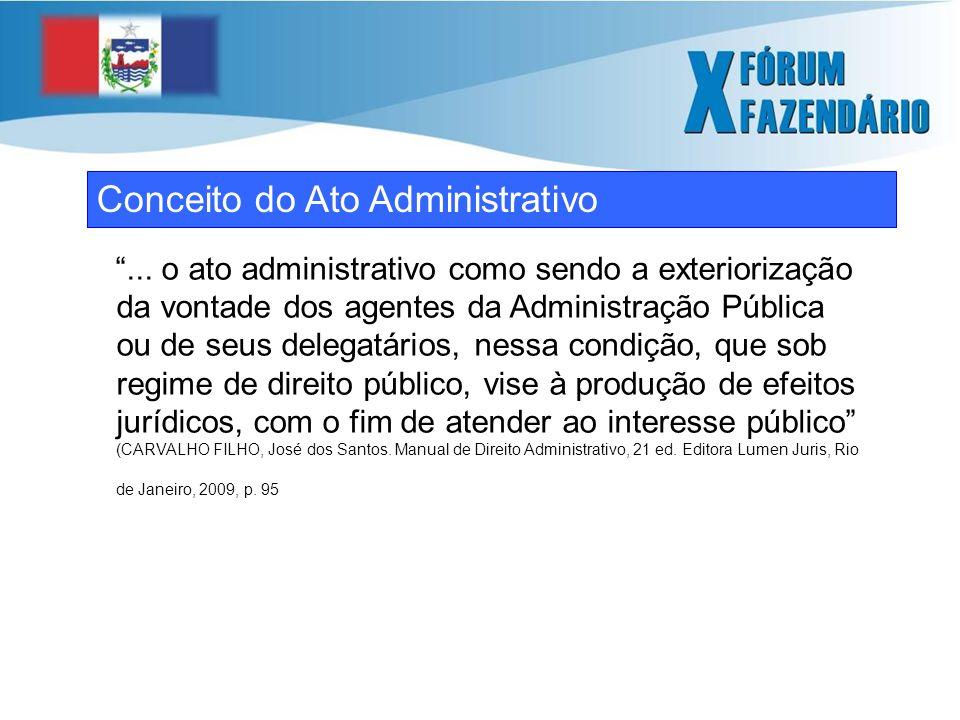 Conceito do Ato Administrativo...
