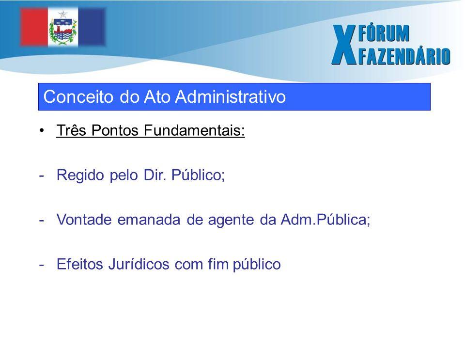 O ato administrativo no campo do Direito Tributário Art.
