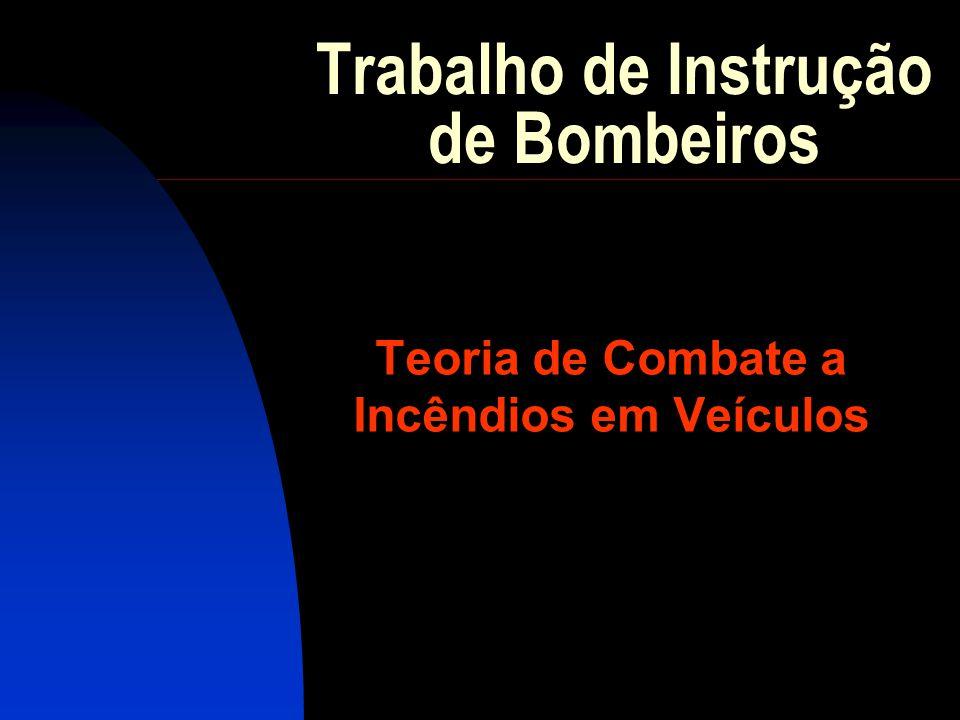 Trabalho de Instrução de Bombeiros Teoria de Combate a Incêndios em Veículos