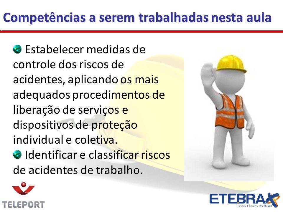 O conhecimento dos Riscos Ocupacionais é a base para implementação das ações Prevencionista, tendo na literatura técnica papel de destaque (NR 5 e NR 9).