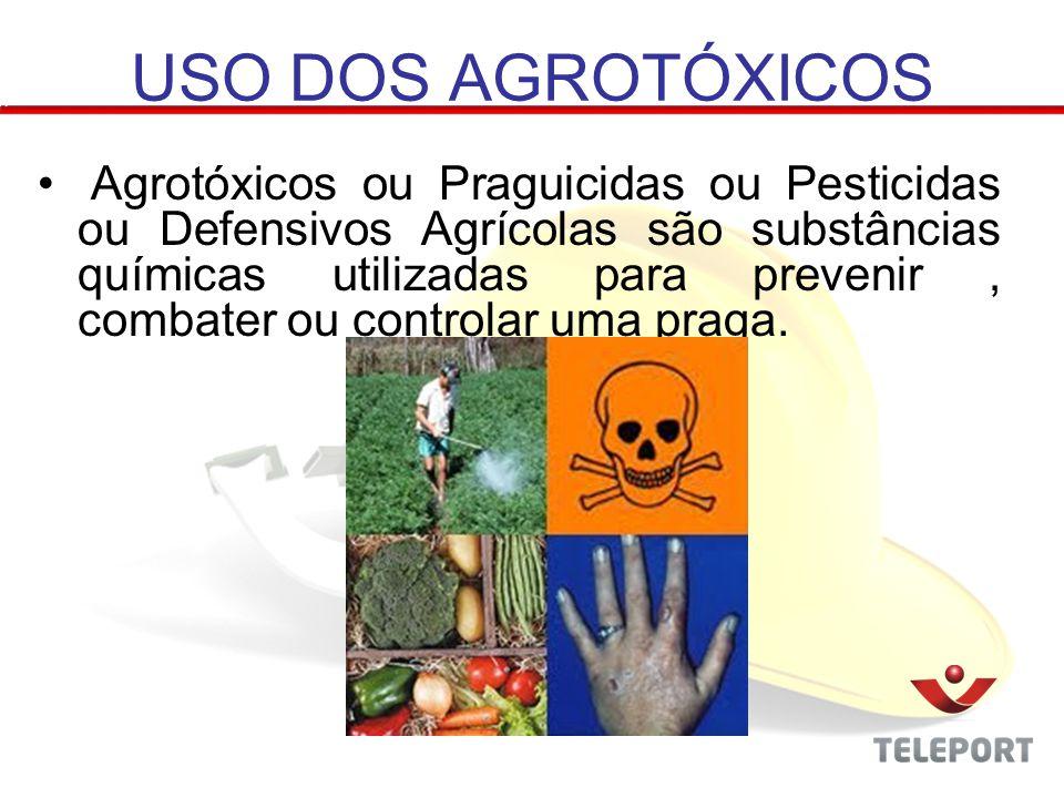 a – Organoclorados – persistem por mais tempo no ambiente, chegando a permanecer por um período de 30 anos.
