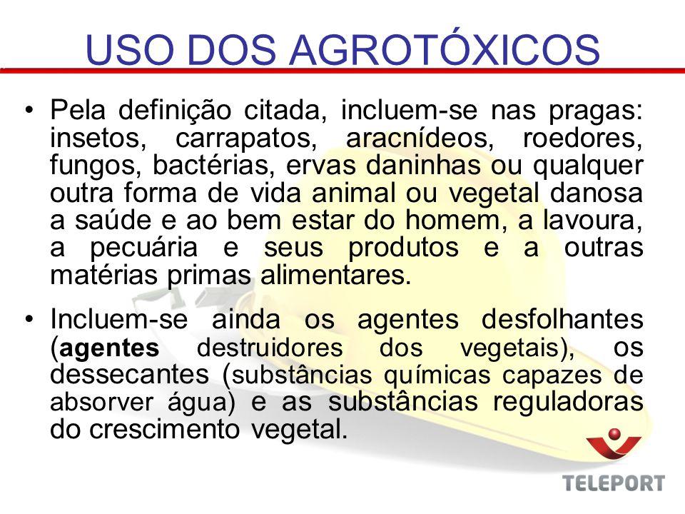 3ª Parte: Para concluir essa atividade faça uma pesquisa sobre 5 (cinco) produtos que são considerados agrotóxicos e explique quais os riscos a saúde que cada produto pode trazer.ATIVIDADE