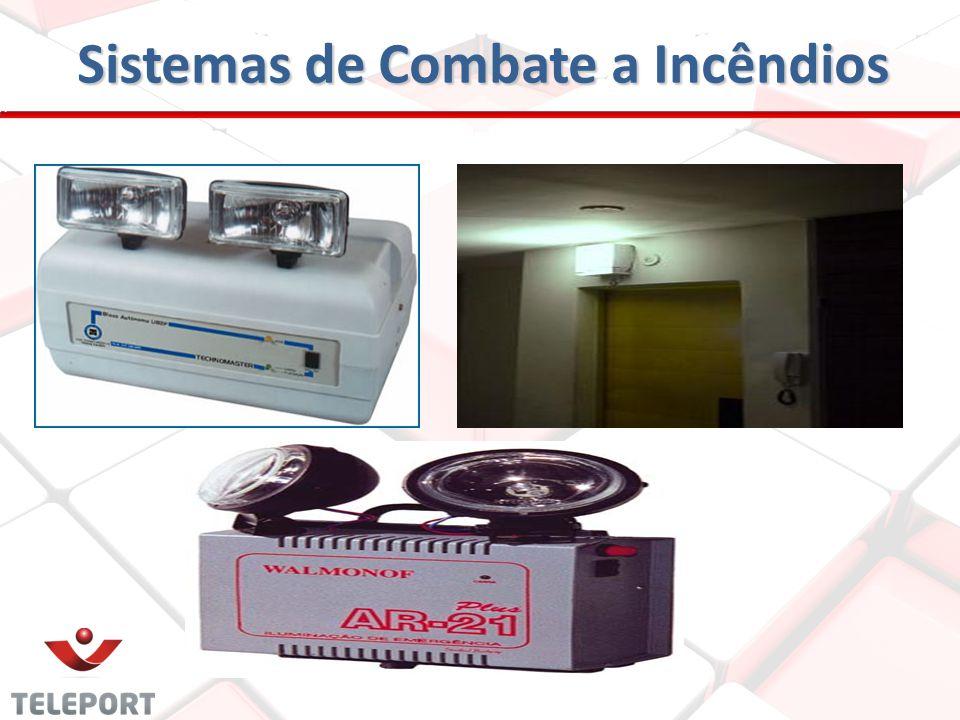 SISTEMAS DE ILUMINAÇÃO DE EMERGÊNCIA São Componentes eletroeletrônicos, com fonte de alimentação própria. Destinado a proporcionar iluminação das rota