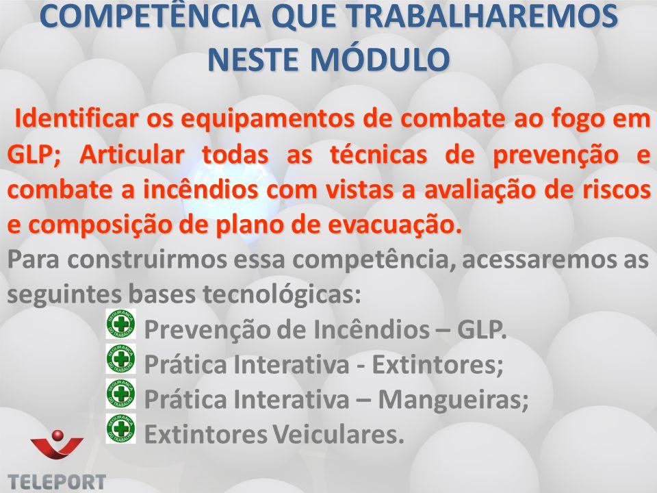 Prevenção de Incêndios - GLP 2.Verificar as condições gerais de segurança e.