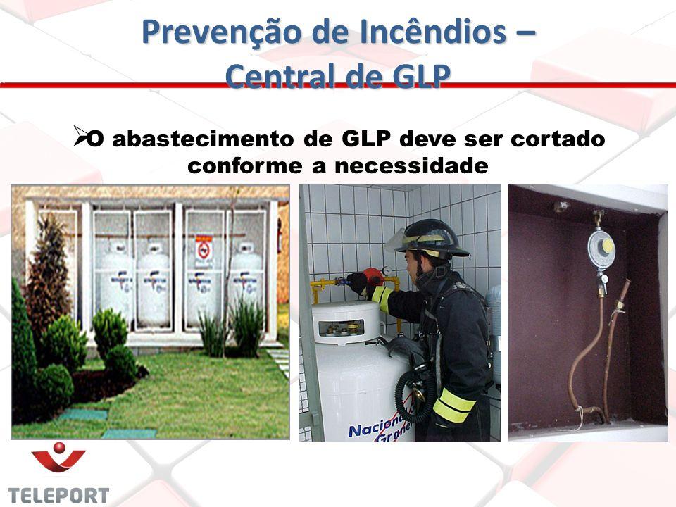 Prevenção de Incêndios - GLP AFASTAMENTOS EM RELAÇÃO A PROJEÇÃO DA EDIFICAÇÃO