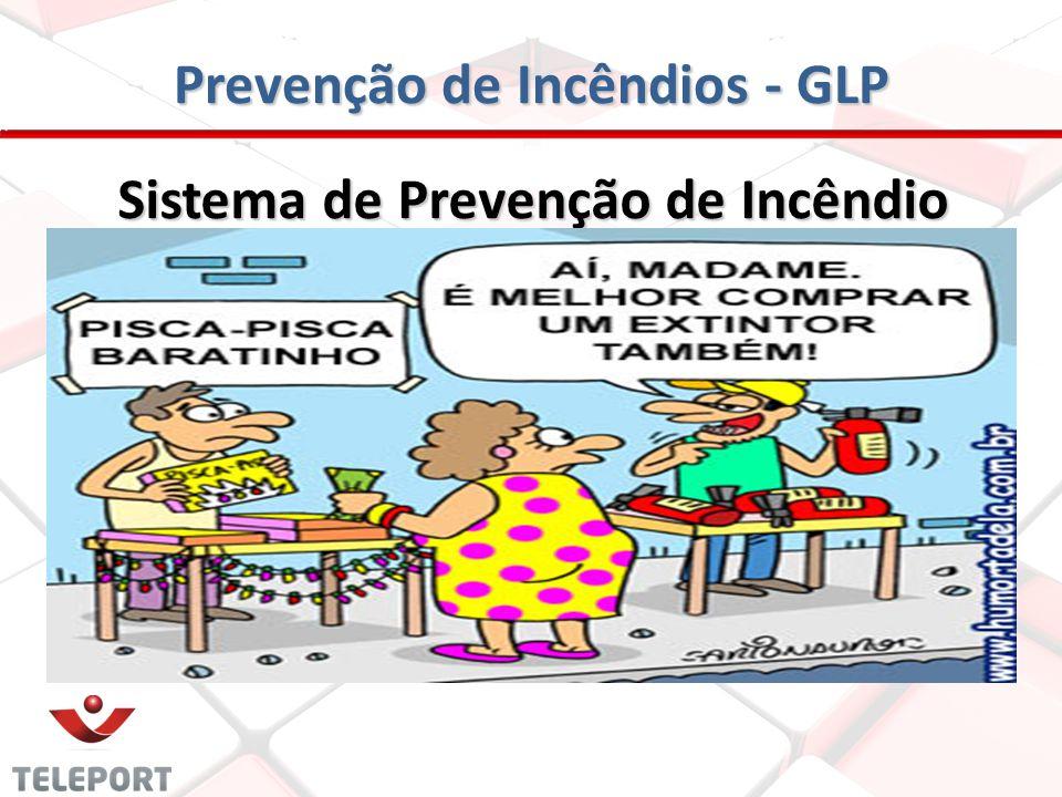 Prevenção de Incêndios - GLP PROTEÇÃO POR APARELHOS EXTINTORES