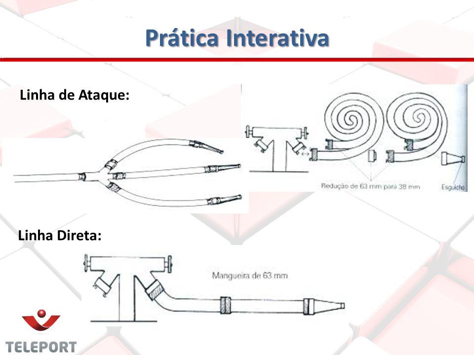 Prática Interativa Derivante : Aparelho metálico com registros, introdução de 63mm e expedições de 38mm, todas de engate rápido. É utilizado no termin
