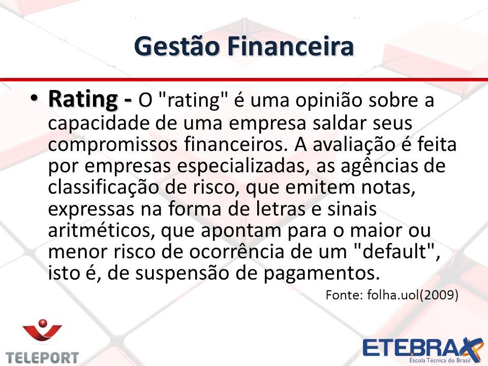 Gestão Financeira Rating - Rating - O