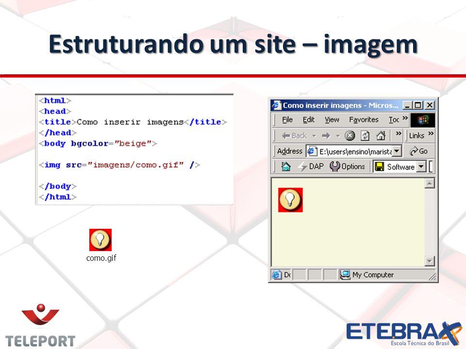 Estruturando um site – imagem como.gif