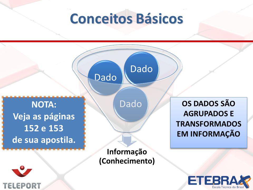 Esquema básico do SIG O sistema de informações é representado pelo conjunto de subsistemas.