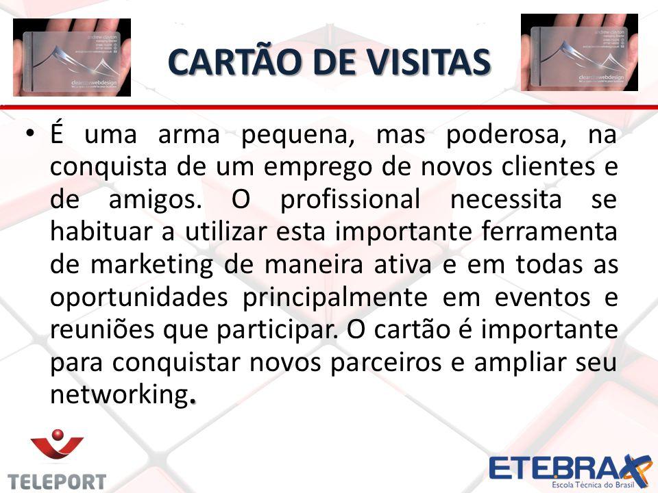 CARTÃO DE VISITAS.