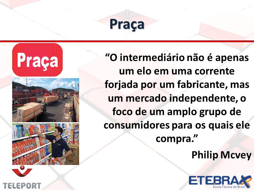 Praça O intermediário não é apenas um elo em uma corrente forjada por um fabricante, mas um mercado independente, o foco de um amplo grupo de consumid