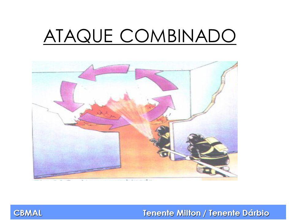 CBMAL Tenente Milton / Tenente Dárbio ATAQUE COMBINADO