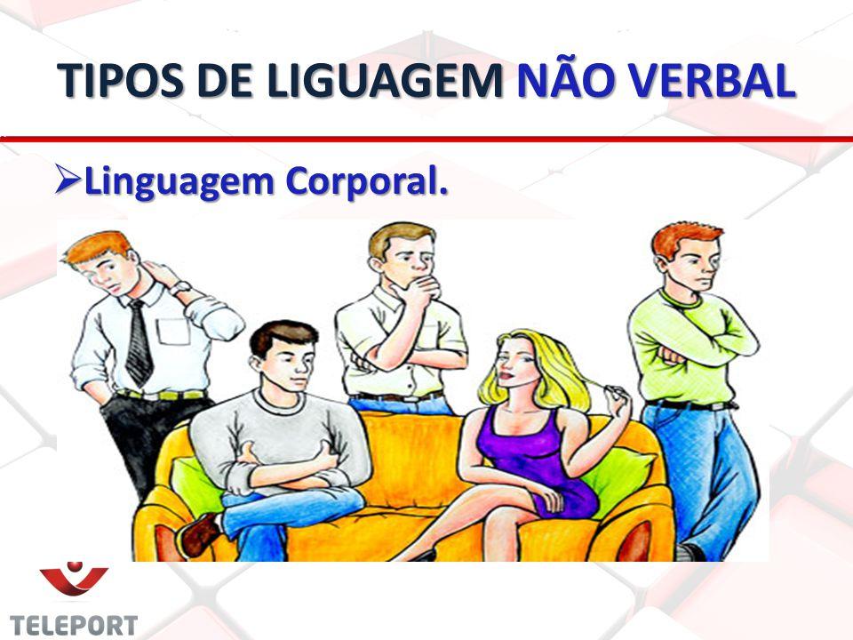 TIPOS DE LIGUAGEM NÃO VERBAL Linguagem Corporal. Linguagem Corporal.
