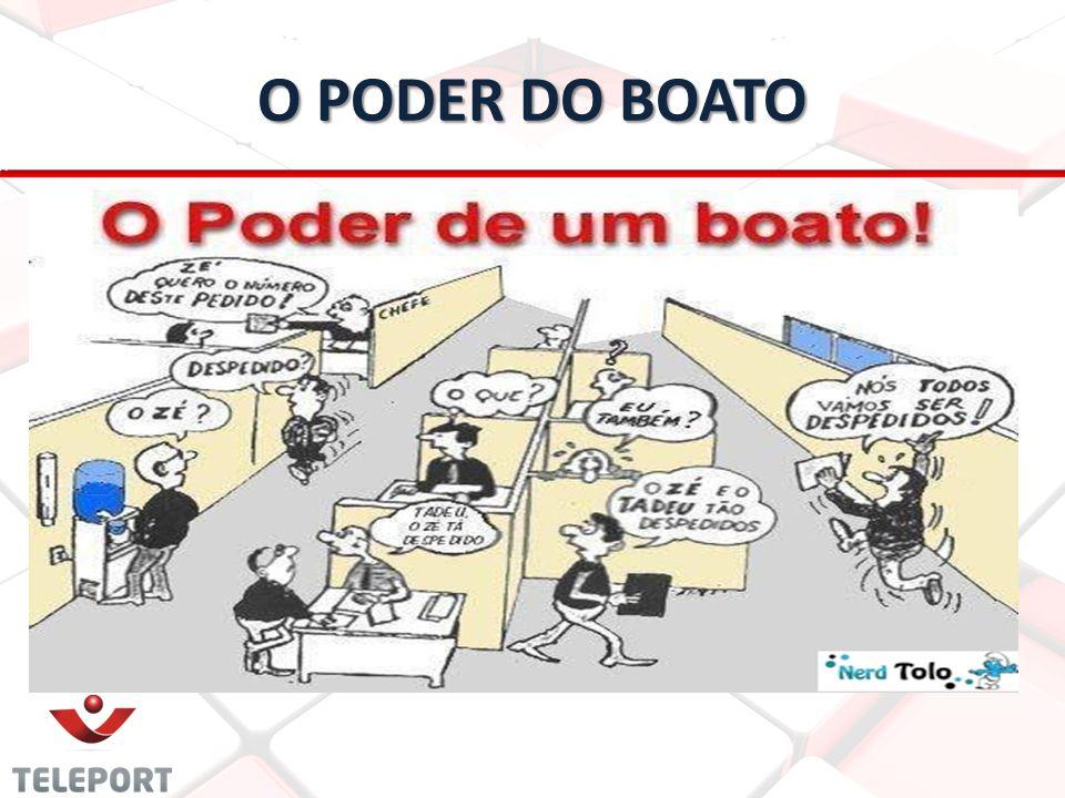 O PODER DO BOATO