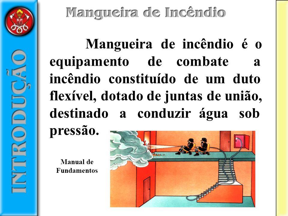 O revestimento interno do duto é um tubo de borracha que impermeabiliza a mangueira, evitando que a água saia do seu interior.
