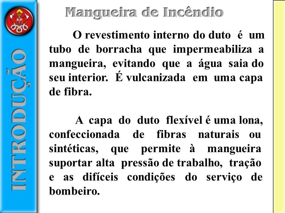 Formas de Acondicionar Mangueiras Acondicionar mangueiras são maneiras de dispô-las em função da sua utilização.