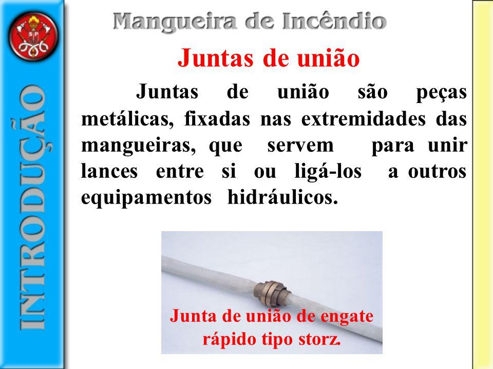 Empatação de mangueira é o nome dado à fixação, sob pressão, da junta de união de engate rápido no duto.