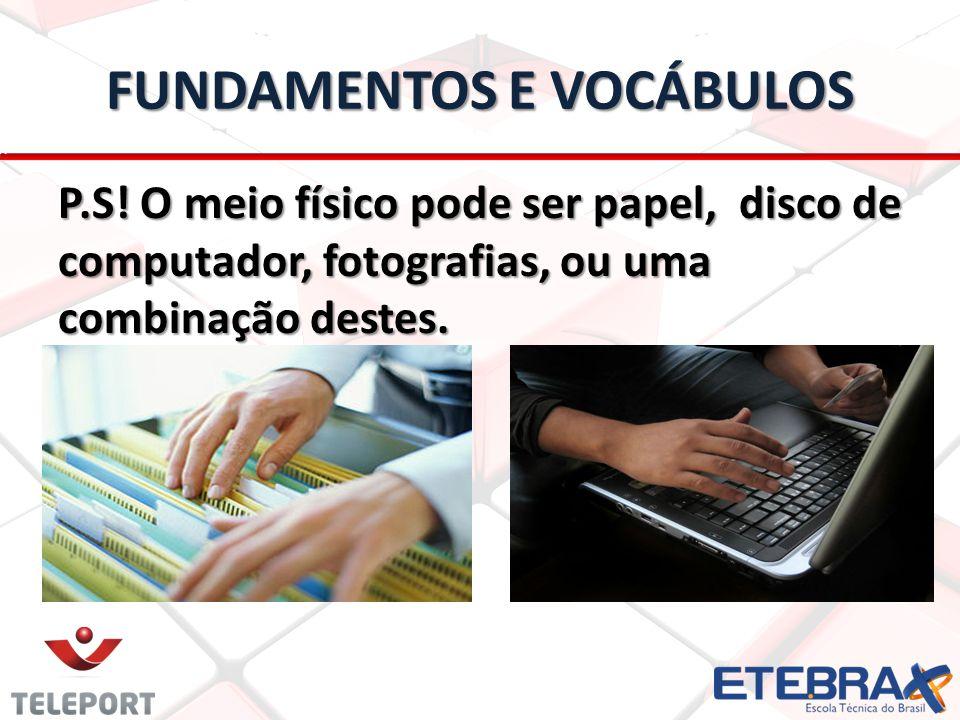 FUNDAMENTOS E VOCÁBULOS P.S.
