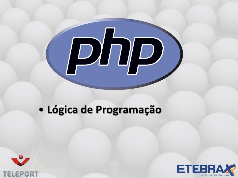 Lógica de ProgramaçãoLógica de Programação