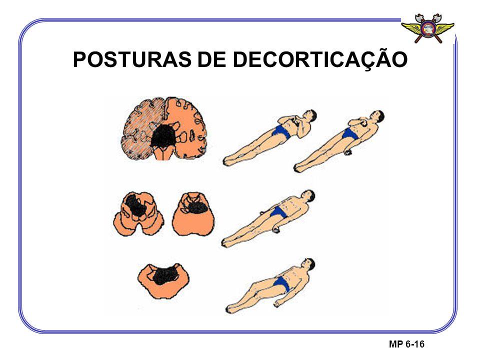 MP 6-16 POSTURAS DE DECORTICAÇÃO