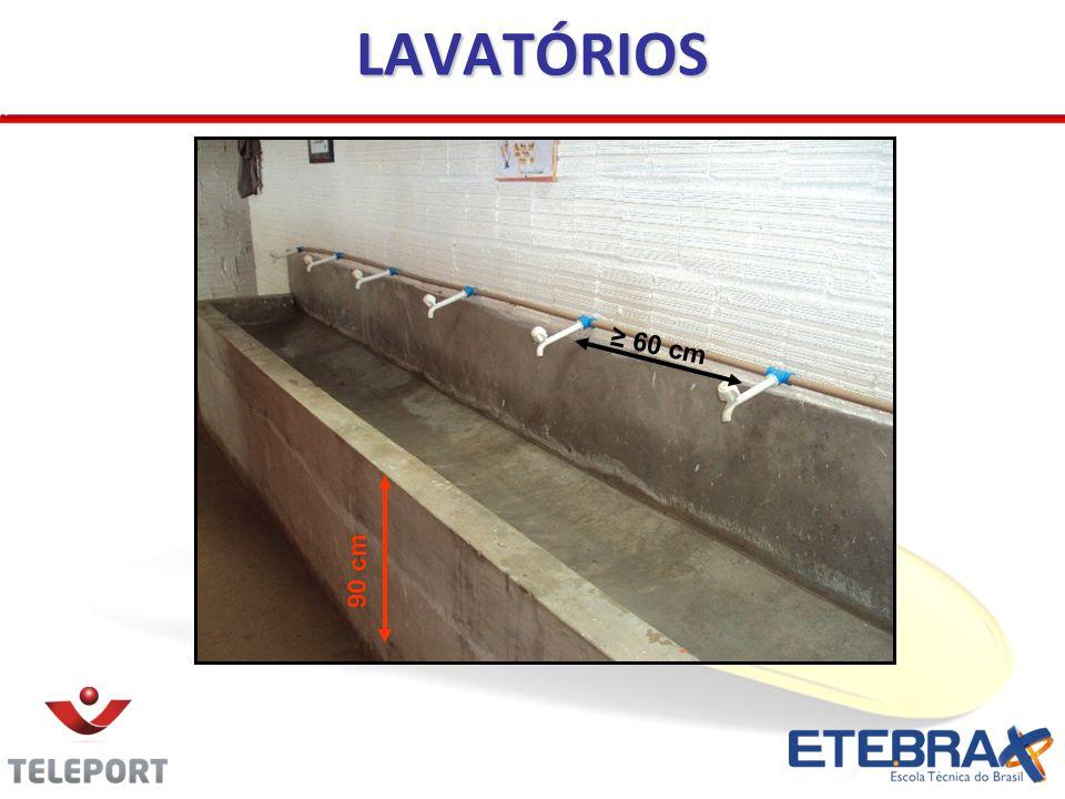 LAVATÓRIOS 60 cm 90 cm