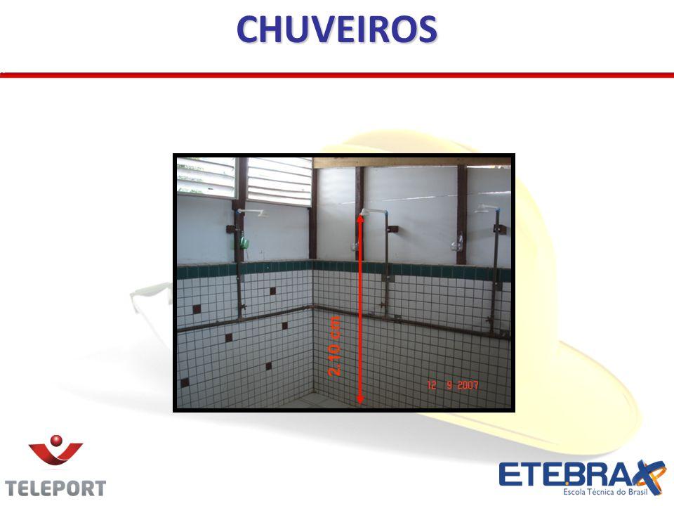 CHUVEIROS 2.10 cm