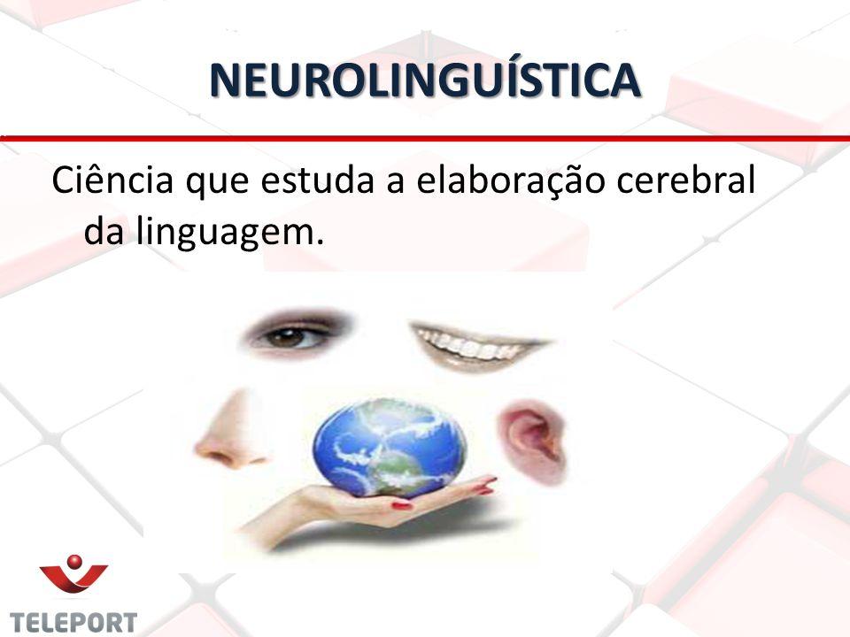NEUROLINGUÍSTICA Ciência que estuda a elaboração cerebral da linguagem.