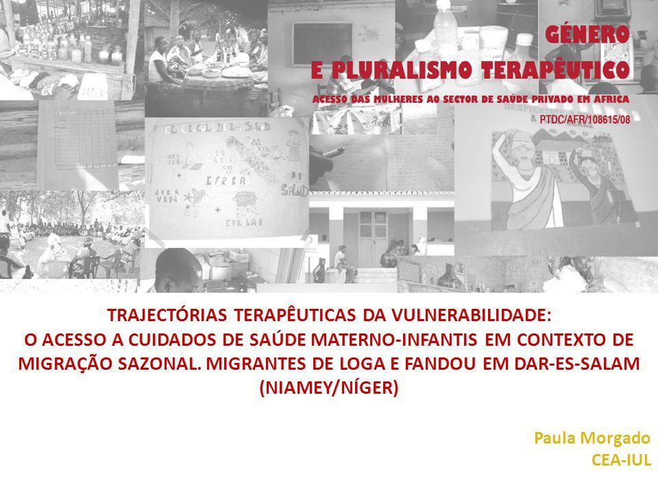 APRESENTAÇÃO Esta comunicação resulta de um trabalho de campo realizado entre Novembro e Dezembro de 2012 no bairro de Dar-es-Salam (Niamey) com um grupo de mulheres migrantes sazonais oriundas de Loga e Fandou.