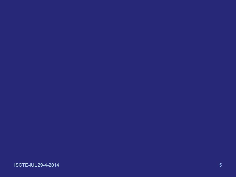 ISCTE-IUL 29-4-201436