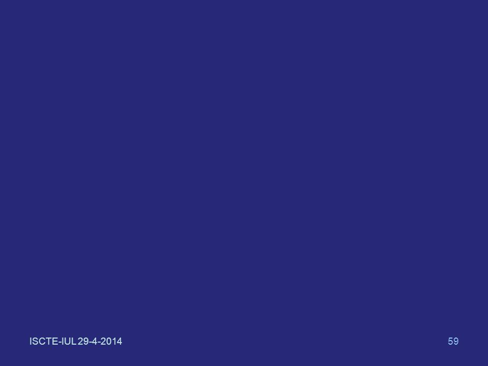 ISCTE-IUL 29-4-201459