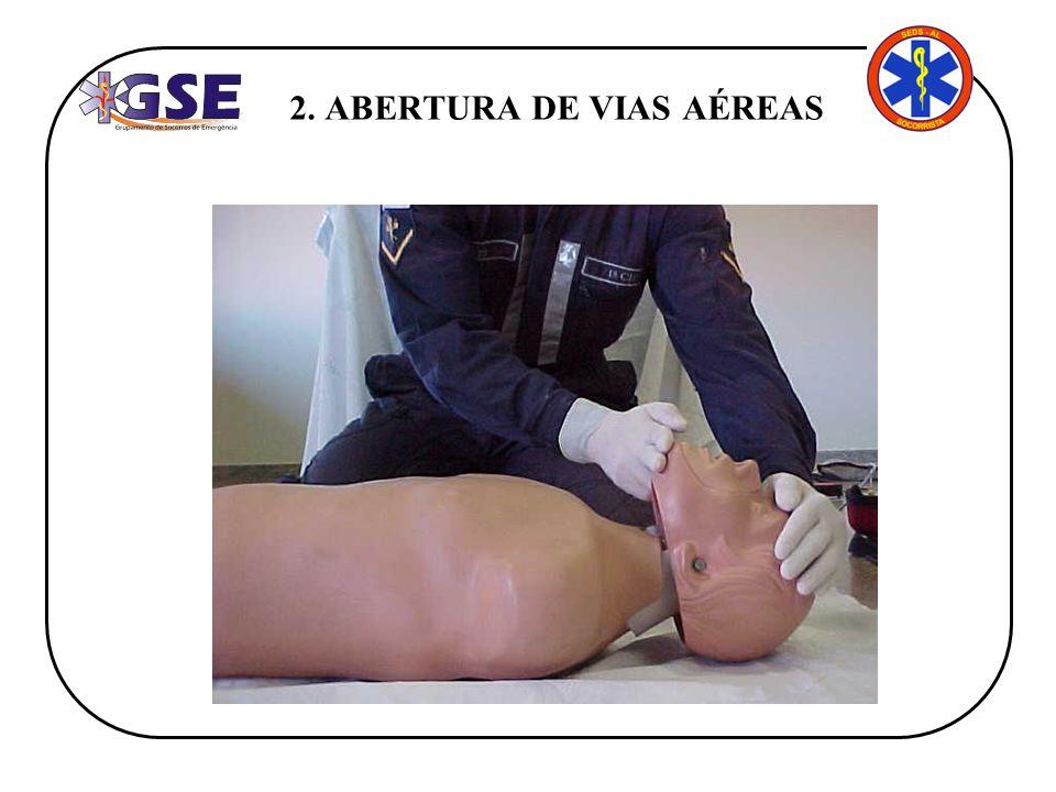 2. ABERTURA DE VIAS AÉREAS
