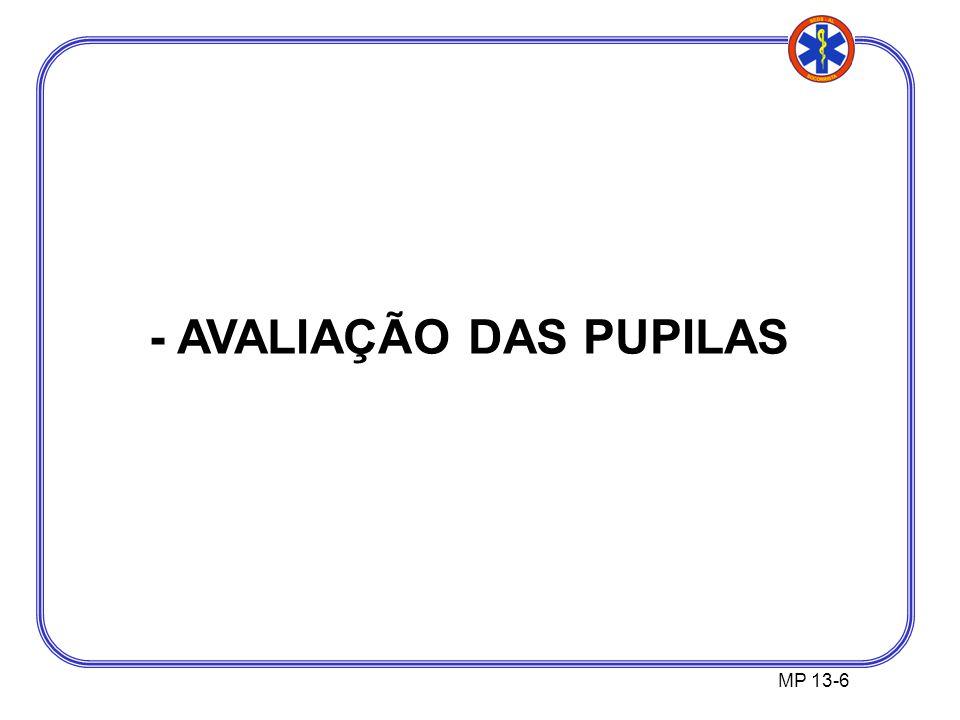 MP 13-6 - AVALIAÇÃO DAS PUPILAS