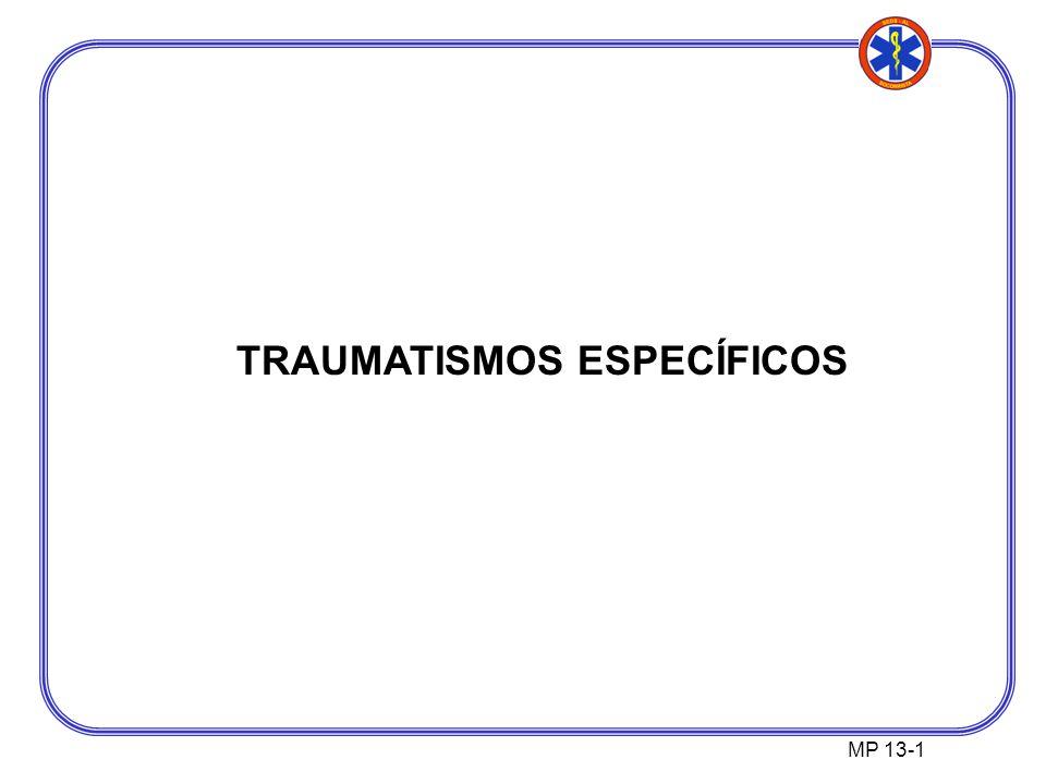 TRAUMATISMOS ESPECÍFICOS MP 13-1