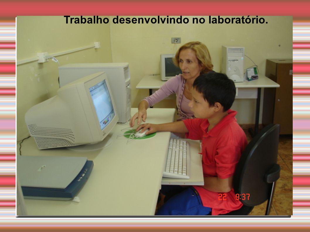 Trabalho desenvolvindo no laboratório.