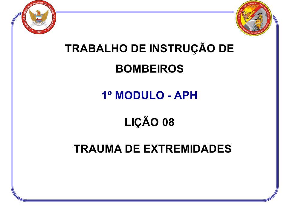 Procedimentos Gerais 1º Tratar condições de risco de vida 2º Tratar condições de risco de perda do membro 3º Tratar as demais condições de trauma de extremidades