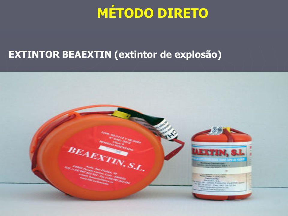 EXTINTOR BEAEXTIN (extintor de explosão)