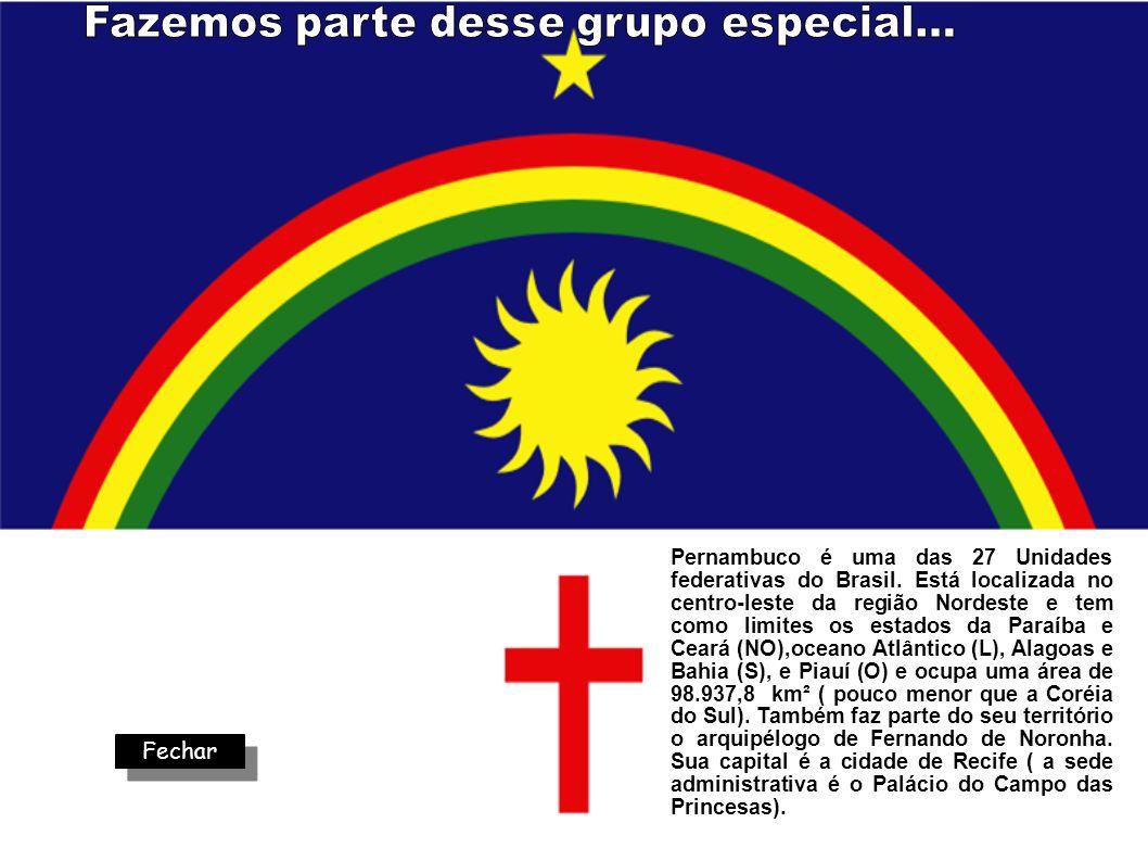 Pernambuco é uma das 27 Unidades federativas do Brasil. Está localizada no centro-leste da região Nordeste e tem como limites os estados da Paraíba e