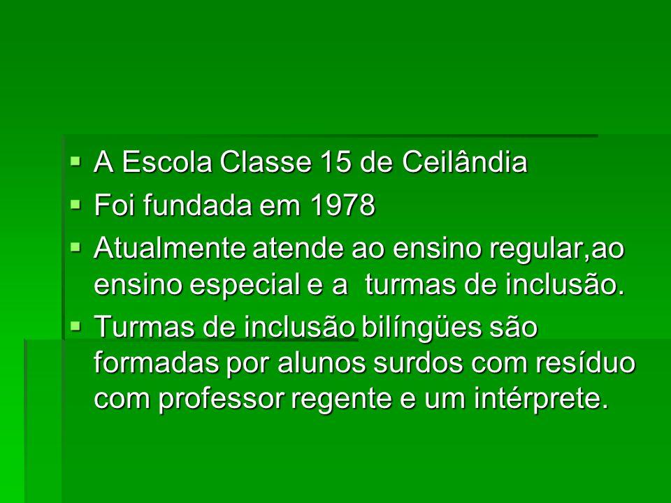 Escola Classe 15 de Ceilândia