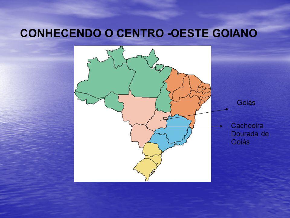 CONHECENDO O CENTRO -OESTE GOIANO Cachoeira Dourada de Goiás