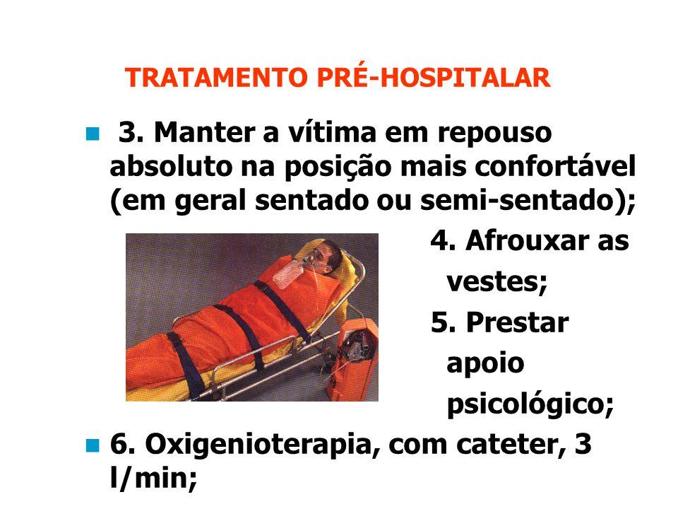 TRATAMENTO PRÉ-HOSPITALAR 3.