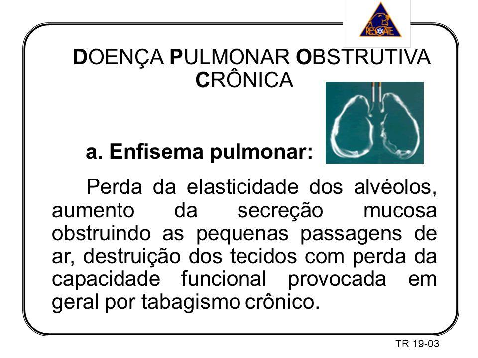 DOENÇA PULMONAR OBSTRUTIVA CRÔNICA a.