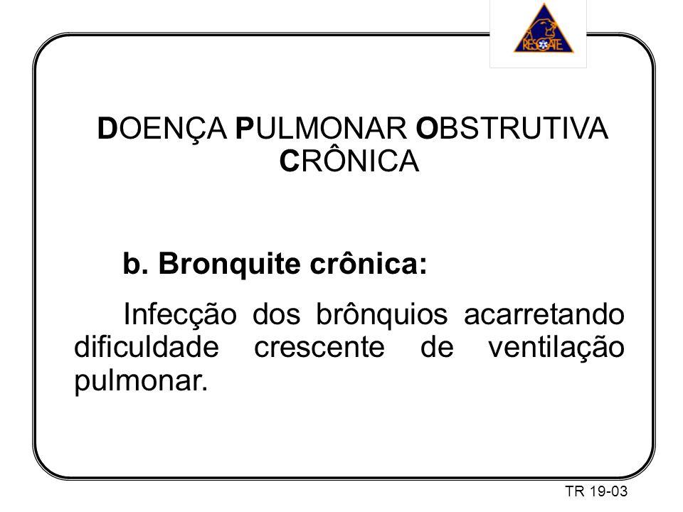 DOENÇA PULMONAR OBSTRUTIVA CRÔNICA b.