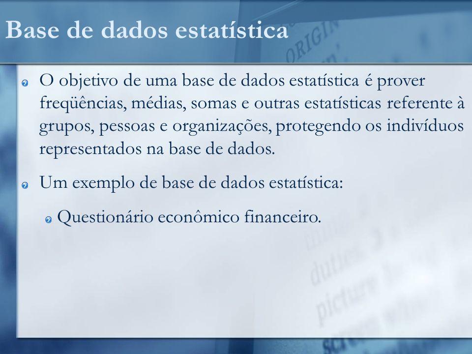 Coletando dados Válido somente para dados numéricos.