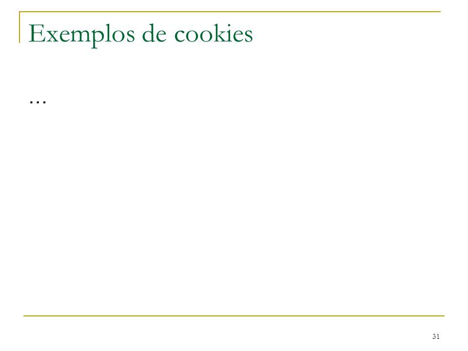 31 Exemplos de cookies …
