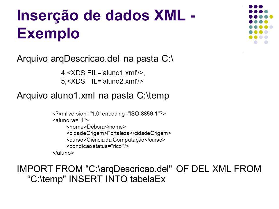 XPath Linguagem para navegar em documentos XML.